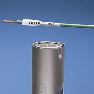 "Panduit H100X034H1C Heat Shrink Label, Thermal Transfer, 3/16"", White"