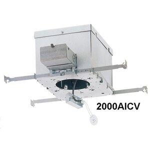Lightolier 2000AICV IC Housing, Frame-In Kit, 3 3/4 in
