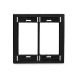 Leviton 41290-DME MOS Wallplate, Black