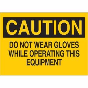 25192 PROTECTIVE WEAR SIGN