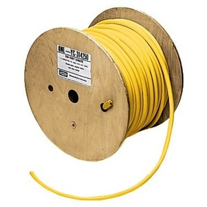 Hubbell-Wiring Kellems YC406250 MARINE POWER CABLE, 6/4 STO, 250', YL