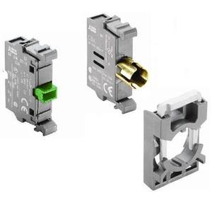 ABB MCBH-101 Pilot Device, 22mm Lamp Block and Holder, 1NO, Front Mount *** Discontinued ***