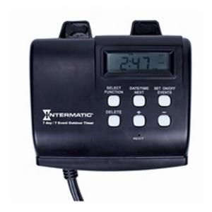 Intermatic HB880R Heavy-Duty Digital Plug-In Timer, 7-Day