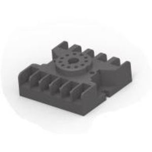 Tyco Electronics 27E123 Socket, 11-Pin, Screw Clamp Terminal, for KR Series Relay