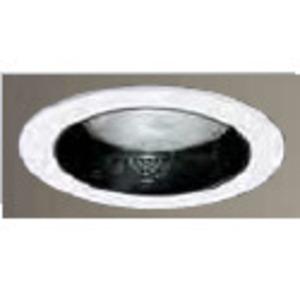 """Halo 5020BL 5"""" Trim Reflector Cone, White/Black"""