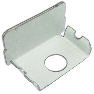 Wiremold WH2010B Blank End Fitting, Plugmold 2000 Series, Steel, White
