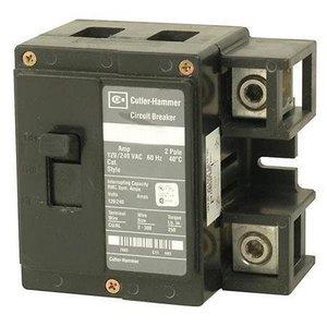 Eaton CSR2200N Breaker, 200A, 2P, 120/240V, 25 kAIC, Type CSR