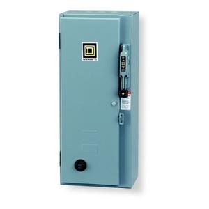 Square D 8911DPSG43V02 Starter, Definite Purpose, 40A, 3P, 600VAC, NEMA 1, 120VAC Coil