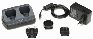 FLIR T198126 Stand-Alone 2-Bay Battery Charger, Including Power Supply