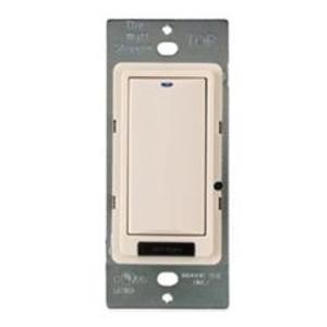 Wattstopper LMSW-101-W Digital Switch, 1-Button, Infrared, White