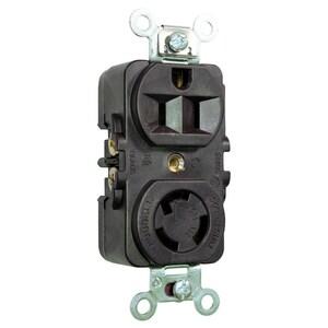 Hubbell-Wiring Kellems HBL4792 LKG COMB DUP RCPT NEMA 5&L5-15R, 1H1N