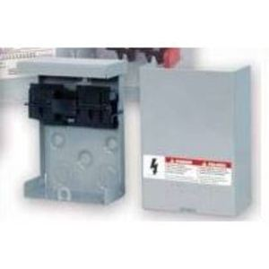 Siemens WF2030 A/C Disconnect Switch, Fused Pull-Out, 30A, 1PH, 10kAIC, 2P, 3HP