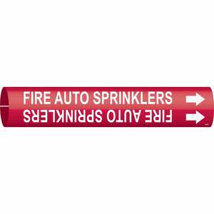 4059-B 4059-B FIRE AUTO SPRINKLERS/RED/S