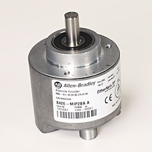 Allen-Bradley 842E-MIP2BA Encoder, Ether/IP, 4096 Multi-Turn, 262,144 Steps per Revolution