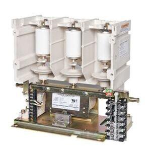 Toshiba HCV-5HA Vacuum Contactor, 2400/4200/6900VAC, 120VAC Coil, 400A, Open