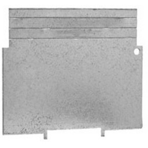 """Hubbell-Raco 707RAC 4"""" Square Partition, Low Voltage, 4"""" x 4"""" X 2-1/8"""", Steel"""