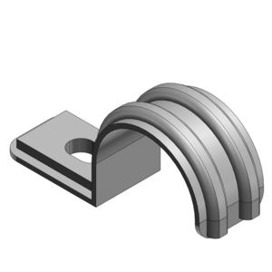 4160-C T&B 3/4 STEEL PIPE STRAP