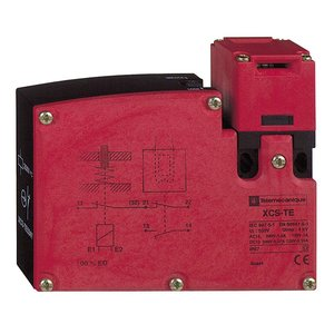 Square D XCSTE7311 Safety Switch, Interlock, Compact, Locking by Solenoid, 24V AC/DC