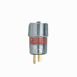Hubbell-Killark UGP-15231 UGP Bladed Plug, 15 Amp, NEMA 5-15P, 2-Wire, 3-Pole