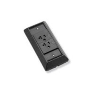 Tyco Electronics 553947-1 Receptacle Kit, Direct Connecting, 20A, Black, Thermoplastic