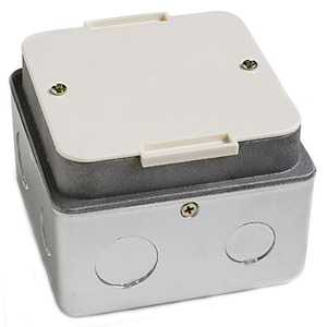 "Lew PUFP-HB 3-1/4"" Deep, 2-Gang, Floor Box"