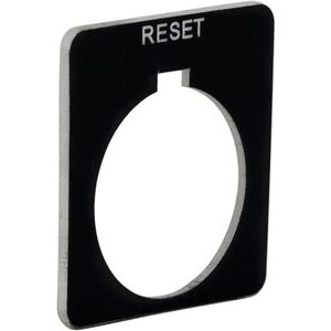 9001KN223BP PUSHBUTTON LEGEND PLATE