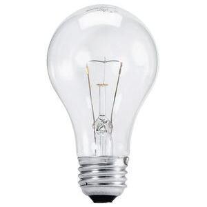 Halco 6325 60 Watt Bulb A19 Clear Incandescent
