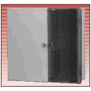 AX100541 FIBEREXPRESS WALL PANEL MED GRY