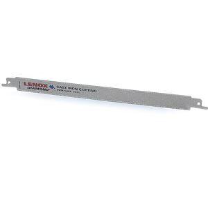Lenox 1766338 Double TangDiamond Reciprocating Saw Blade, 9 x 3/4 x .042