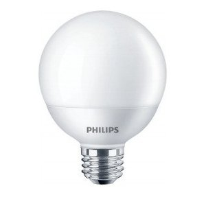 Philips Lighting 465880 LED Globe Bulb, 6.5W, 120V, 2700K