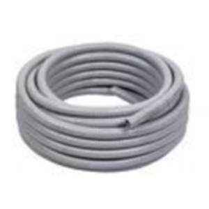 "Multiple UA050GRY50CL Liquidtight Flexible Steel Conduit, Type UA, 1/2"", Gray, 50'"