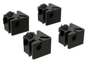 nVent Hoffman APNLBLK Adjustable Panel Block Kit, Use With PolyPro Internal Rail System