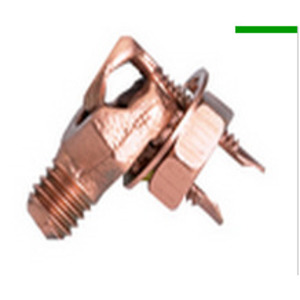Burndy EQC632C1 Transformer Grounding Connector, Copper, 8 - 2 AWG