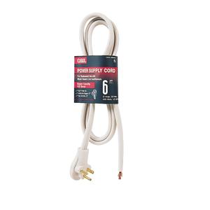 General Cable 04199.60.17 6' 12/3 SPT-3 250V