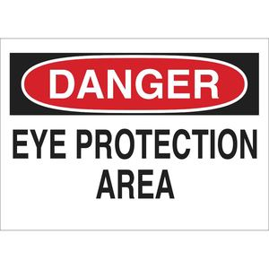 22613 EYE PROTECTION SIGN