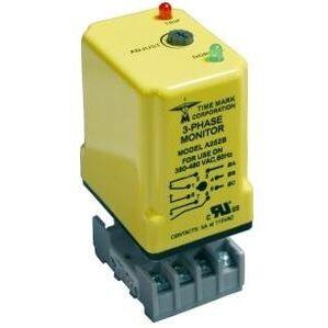 Time Mark A252B Power Monitor, 3-PH, 480VAC, 380-480VAC Range, SPDT, SPST/NO