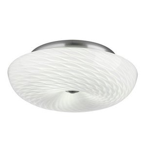 Forecast Lighting F606436 Ceiling Light, 3 Light, 60W, Satin Nickel