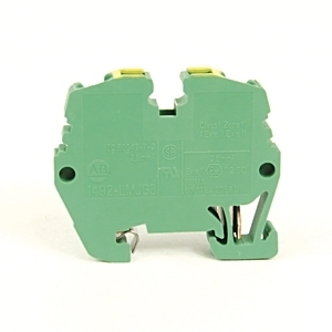Allen-Bradley 1492-LMJG3 Terminal Block, Grounding, Green/Yellow, 26 - 12AWG, 2.5mm