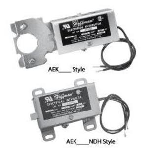 nVent Hoffman AEK115NDH Electrical Interlock 115V, NDH Series, Steel