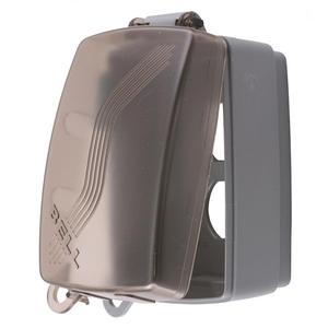 Hubbell-Wiring Kellems RW57300 WP HOOD, 1G VERT, MULTI OPNG, BK