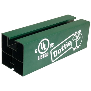 Dottie DPS ABS, Cut To Length Pipe Support