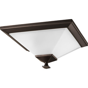 Progress Lighting P3854-74 Close to Ceiling Light, 1-Light, 100W, Venetian Bronze Finish *** Discontinued ***