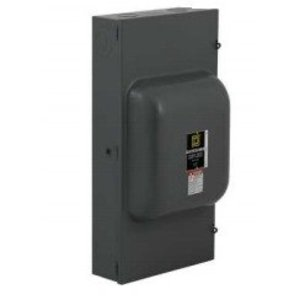 Square D 82254 Safety Switch, Non-Fused, Double Throw, 200A, 240VAC, 2P, NEMA 1