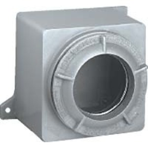Hubbell-Killark GRE-300L Conduit Outlet Box With Lens Cover, Type: GRE, Opening: 4-11/32""