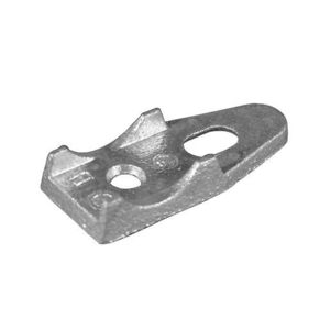 "OZ Gedney 141G Clamp Back, EMT/Rigid, 1/2"", Malleable Iron"