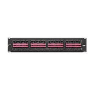 Leviton 69586-C48 QuickPort Patch Panel, 48-Port, 2RU