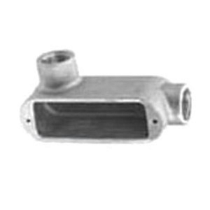 "Appleton LL29 Conduit Body, Type: LL, 3/4"", Form 9, Aluminum"