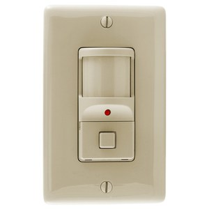 Hubbell-Kellems WS1277I PIR Occupancy Sensor/Switch, Ivory *** Discontinued ***