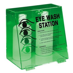 "Brady PD997E Eye Wash Station, Double Bottle , 10""x10.25""x7"""