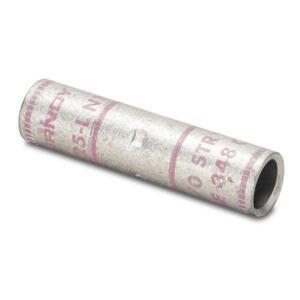 Burndy YS25LBOX Compression Buttsplice, Copper, 1/0 AWG, Standard Barrel